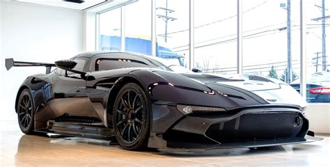 custom aston martin vulcan second aston martin vulcan arrives in the u s