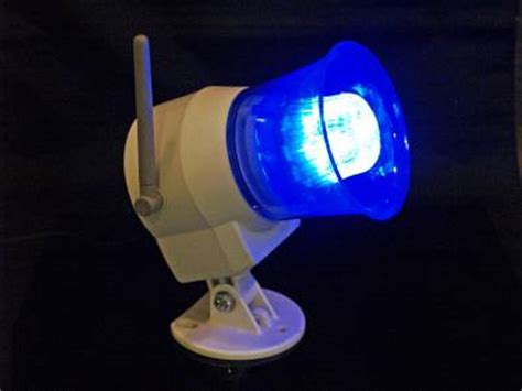 Panic Lighting by Wireless Outdoor Siren Light Remote Can