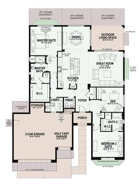 pebble creek floor plans pebble creek floor plans 187 iris bartzen arizona real estate for 55 active adults