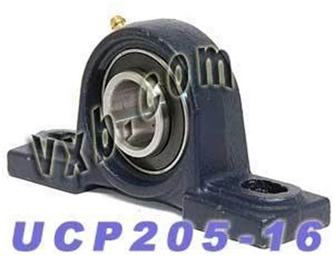 Pillow Block Bearing Ucp 205 16 Asb 1 1 quot bearing ucp 205 16 pillow block cast housing mounted bearings industrial