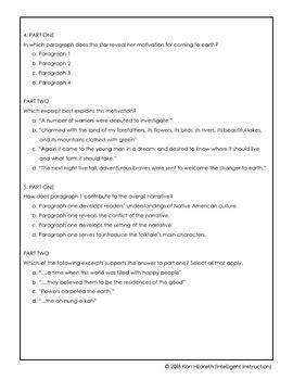 AIR Test Prep or PARCC Test Prep: 6th Grade English