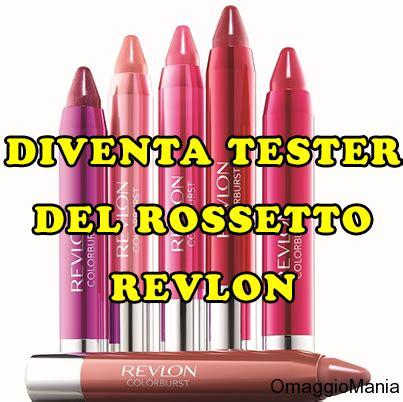 testare prodotti gratis diventa tester rossetto revlon colorburst crayon