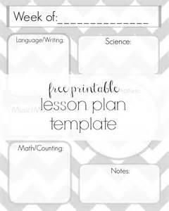preschool lesson plan templates free printable free printable lesson plans newhairstylesformen2014