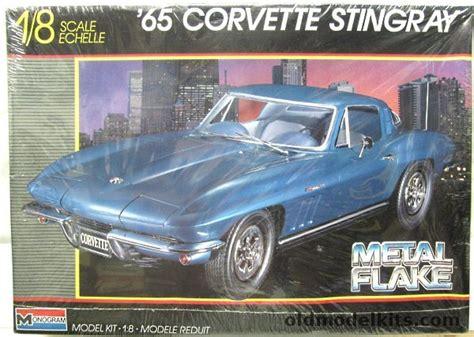 monogram   corvette stingray metal flake