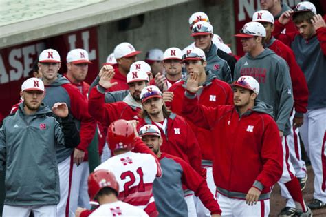 Order Sekarang Baseball Coklat Ks 37 nu baseball huskers turn on the offense to kansas state baseball journalstar