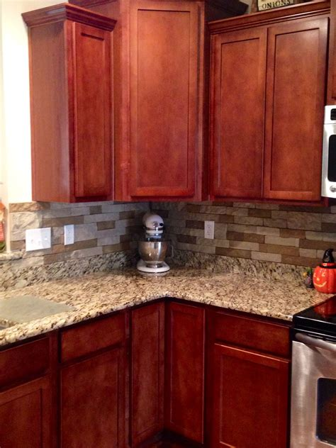 cecilia granite with cherry cabinets roselawnlutheran