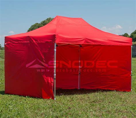 gazebo pieghevole prezzi gazebo pieghevole 4x6 rosso alluminio 50mm prezzo