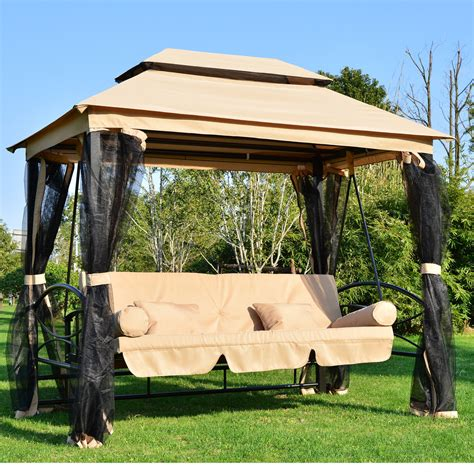 outdoor swing set with canopy outdoor swings with canopy jbeedesigns outdoor the