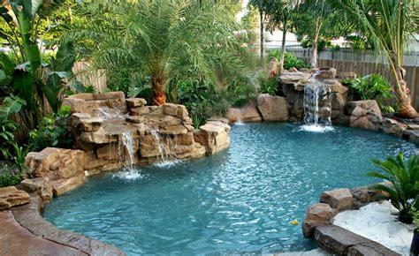 swimming pools with rock waterfalls pictures pixelmari com swimming pool rock slides florida swimming pool