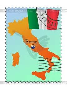 rome capital of italy vector clipart