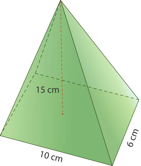 volume pyramid volume of pyramids and cones ck 12 foundation