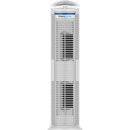 therapure 230h uv germicidal hepa style air purifier 3 speed white walmart
