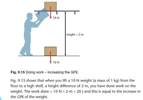 work and energy section quiz power work energy and power gcse revision physics forces