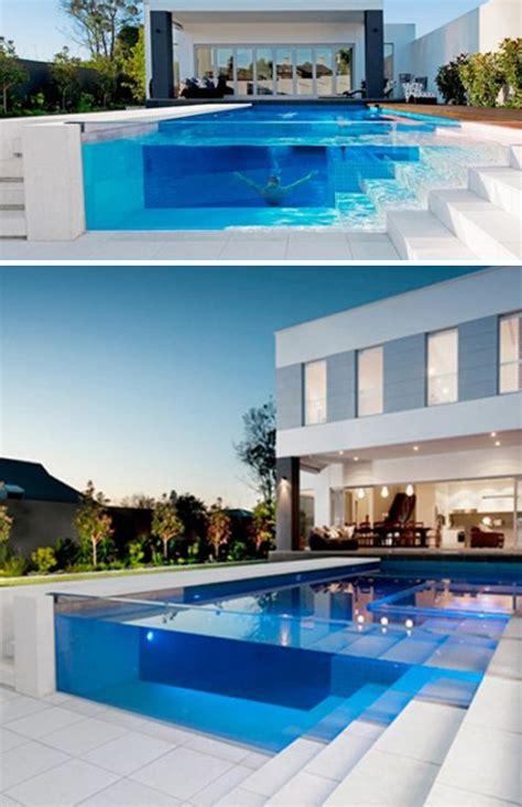 amazing glass pool wall ideas homemydesign