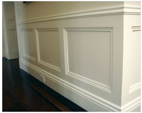 Wainscoting Frames inset frame wainscoting wall paneling styles