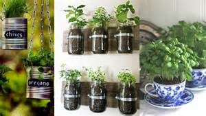 growing herbs inside indoor herb garden