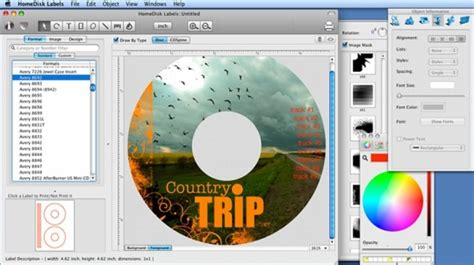 dvd cover template mac mac cd dvd label maker for mac free and