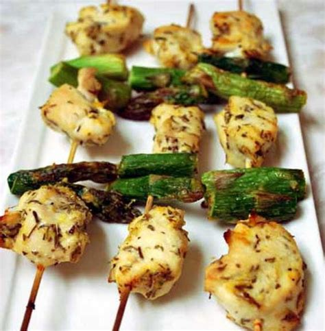protein 1 lb chicken breast ideal protein recipe chicken and asparagus skewers