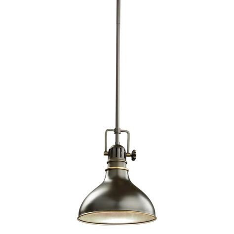 kichler pendant lighting kitchen kichler lighting 2664oz traditional mini pendant light kch