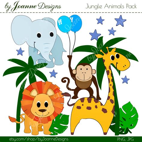 bambini immagini clipart jungle animals clip www imgkid the image