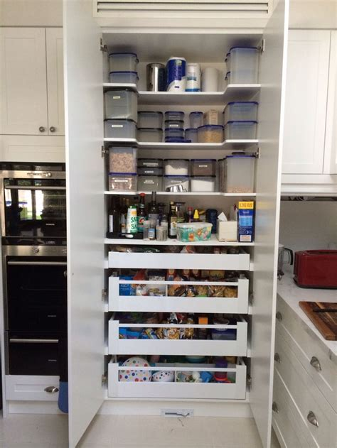 kitchen pantry cabinet with drawers drawers inside the pantry has been working really well