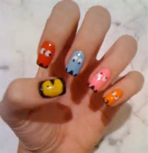 gallery for gt video game nails