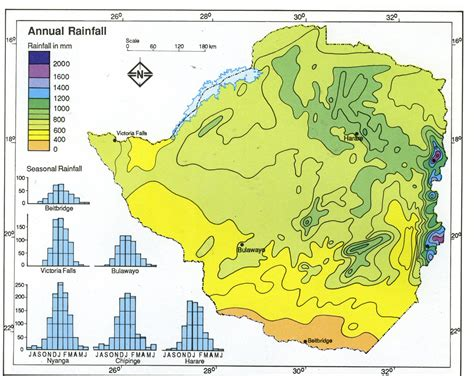 average rainfall map module thirty activity one exploring africa