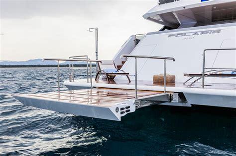 boat swim platform shower rossinavi polaris prince shark wow www yachtworld