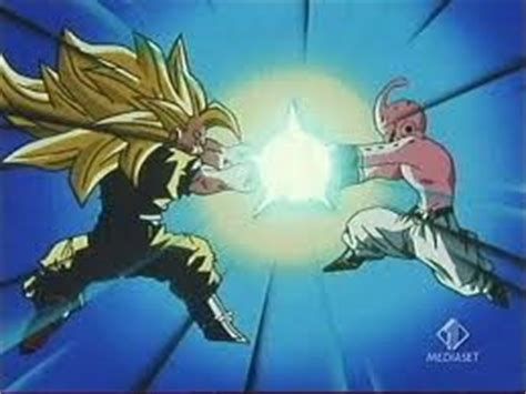 imagenes de goku vs kid buu ssj3 goku vs kid buu by kidd4 on deviantart