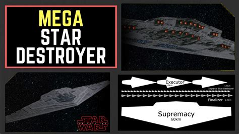 The Supremacy snoke s new 60km mega destroyer revealed quot the