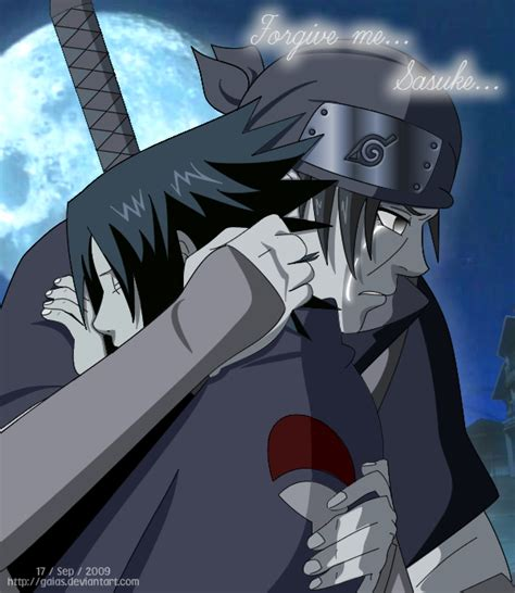 imagenes de itachi kawaii itachi say sasuke forgive me by gaias on deviantart