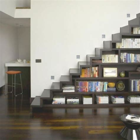 stairs bookcase slick