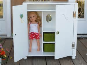 18 Doll Armoire Doll Armoire Wardrobe For 18 Dolls