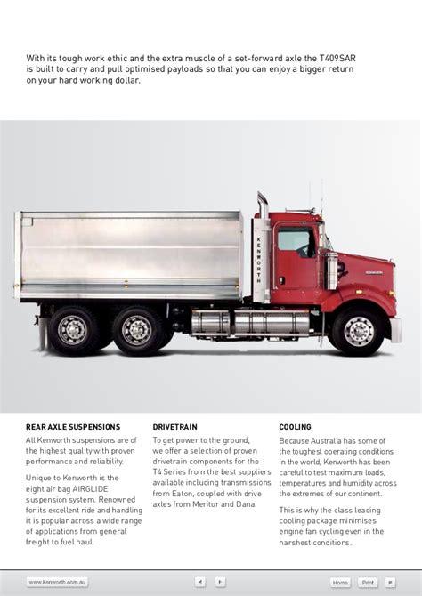 kenworth truck centre kenworth t409 sar hallam truck centre