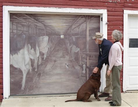 garage door murals car interior design