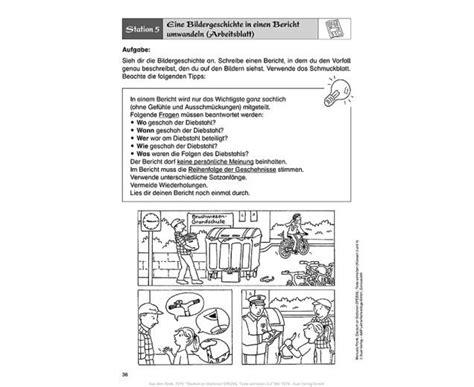 bericht schreiben volksschule an stationen klasse 3 4 texte schreiben edumero de