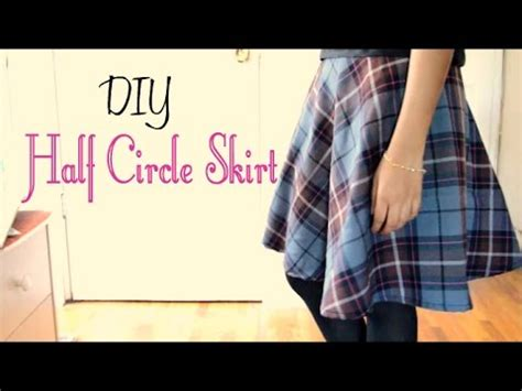pattern machine you tube how to make a half circle skirt without a pattern youtube