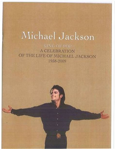 Some Broad Wants Michael Jacksons by The Michael Jackson Memorial Program Thank You Evan