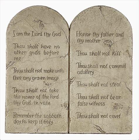 Ten Commandments Of Character god is a myth the ten commandments