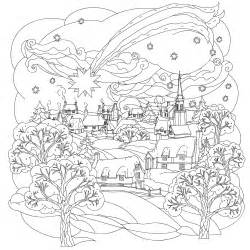 winter coloring pages adults coloring pages for adults coloring