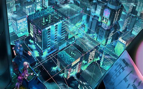 cityscapes robots fantasy art science fiction original