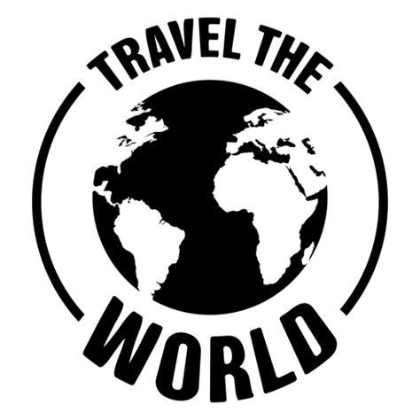 imagenes png viajes viajar por el mundo emblema descargar png svg transparente