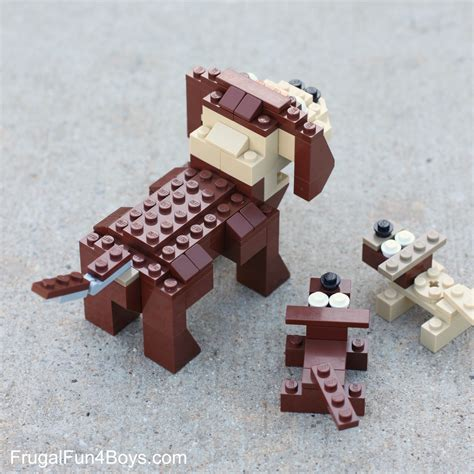 lego puppy lego building frugal for boys and