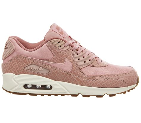 pink pattern air max nike air max 90 pink glaze basket weave gum hers trainers