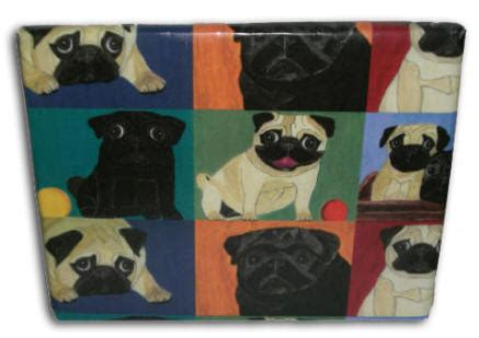 pug wrapping paper roll pug gift wrap pug wrapping paper