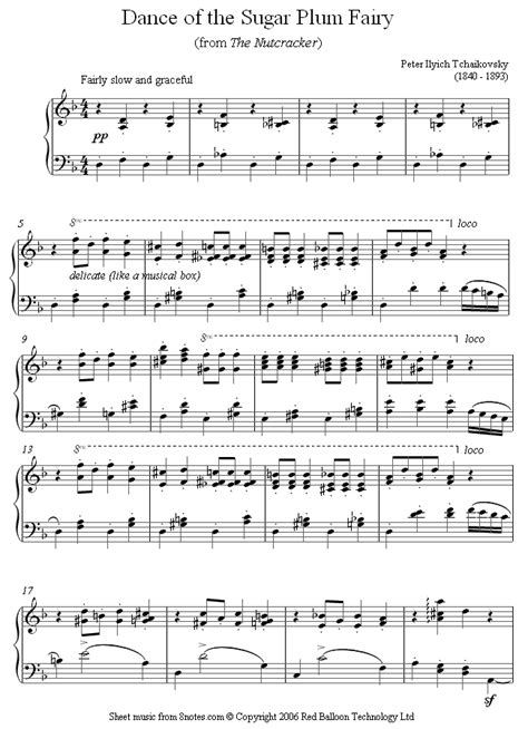 dance of the sugar plum fairies tchaikovsky dance of the sugar plum fairy from the