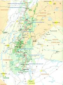 appalachian trail map official appalachian trail maps