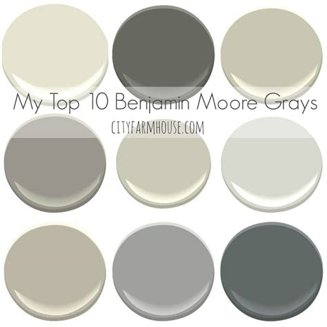 most popular benjamin classic gray