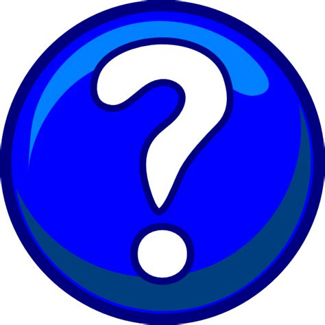Question Clipart question blue clip at clker vector clip royalty free domain