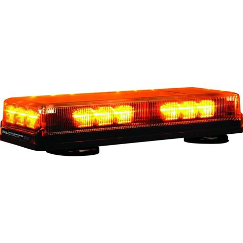 Mini Led Light Bar Buyers Products Company 18 Led Mini Light Bar 8891090 The Home Depot
